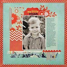 *My Little Man* NEW BasicGrey PB&J - Scrapbook.com
