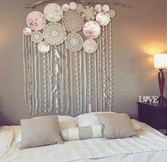Large dream catcher backdrop free delivery top selling world crochet granny halter top pattern in pdf rainbow etsy Grand Dream Catcher, Large Dream Catcher, Dream Catcher Bedroom, Dream Catcher Decor, Custom Wall Murals, Bedroom Decor, Wall Decor, Bedroom Murals, Home And Deco