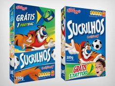 Embalagens_sucrilhos_Copa #2014FifaWorldCupBrasil PD Marketing, Frosted Flakes, World Cup, Packaging Design, Packing, Packaging, Productivity, Bag Packaging, World Cup Fixtures