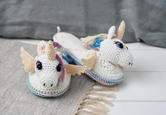 Who can resist Hannah Cross' winsome unicorn slippers? Find out how to hook them in issue 54 of Simply Crochet.