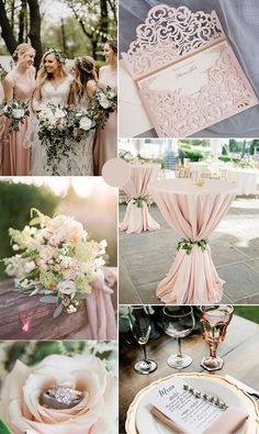 7 Amazing Summer Wedding Color Combos for a Memorable Big Da.- stunning moody dusty blue and plum purple summer wedding colors Purple Summer Wedding, Spring Wedding Colors, Summer Wedding Colors, Summer Colors, Blue Wedding, Blue Colors, Pale Pink Weddings, Wedding Vintage, Plum Colour
