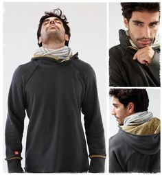 hoodies - mens winter hoodies - eco luxe yoga and lifestyle clothing - ultimate hoodie - We-ar