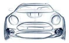 Mini Clubman Concept Sketch