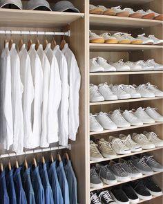 Organized closet inspo