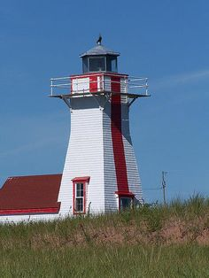 New London Lighthouse, PEI by Product of Newfoundland, via Flickr