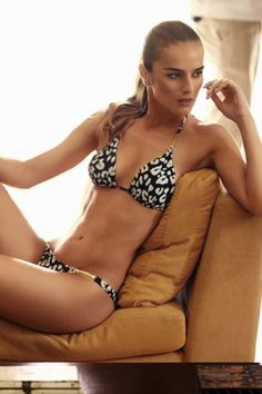 Jaguar Triangle Bikini #vixswimwear #Awesome #gold