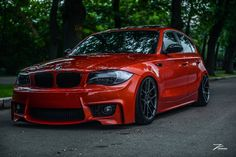 BMW 1 series M coupe orange slammed - Autos 2019 Bmw Serie 1, 135i Coupe, E60 Bmw, Mini Clubman, Bmw Love, Motor Car, Cars And Motorcycles, Super Cars, Automobile