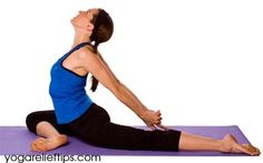 Pigeon Pose is a great yoga pose for sciatica pain relief. Free 14 minute yoga video.