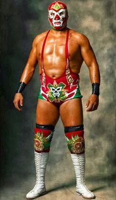 Luchadores Mexicanos Enmascarados - Mark Laita: Gods of War  Dr.Wagner, jr, baby. Best Rudo ever.