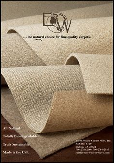 Natural Wool Carpet, Non Toxic, Green, High Quality –Earth Weave Carpet Mills, Inc.