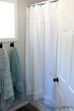 Bathroom Light Not Bright Enough how to fix a shower curtain that is too short | shower curtain is