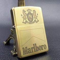 Japanese Zippo Brass Marlboro Lighter Limited Edition
