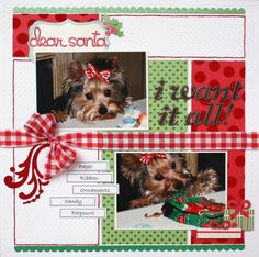 Dear Santa **Scrapbooking and Beyond** - Scrapbook.com