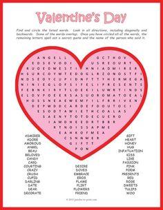 valentine's day spelling list 5th grade