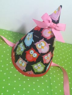 owl party hat