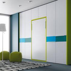 Camas que se ocultan en un armario para aprovechar el máximo espacio ➡️ http://www.espaijuvenil.cat ⬅️ #muebles #juvenil #espaijuvenil