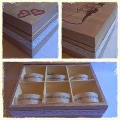 Csináld Magad Esküvői ajándék, avagy hogyan csomagoljuk be a pénzt?! :) Diy Wedding gift Decoupage, Decorative Boxes, Container, Diy Projects, Wedding, Home Decor, Hare, Creative, Valentines Day Weddings