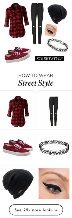 """""""My First Polyvore Outfit"""" by anastaciafiedler on Polyvore featuring Coal, Vans, LE3NO, Ally Fashion and LORAC"""