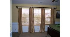 Curtain Ideas for three windows