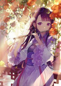 Pixiv Id 25344318 Image - Zerochan Anime Image Board Kimono Animé, Anime Girl Kimono, Anime Girl Neko, Cool Anime Girl, Chica Anime Manga, Cute Anime Pics, Beautiful Anime Girl, Anime Art Girl, Manga Art