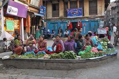 TO: Katmandu, Nepal, Vegetable Vendors wait patiently for customers in Kathmandu, Nepal  Incredible pic by Barbara Weibel