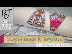 Polymer Clay Sculpey Design It Templates  ~ Polymer Clay Tutorials