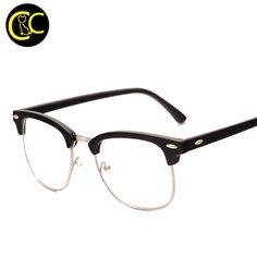 Brand Men Frame Fashion Glasses with Clear Lenses Man Johnny Depp Nerd Optical Women Computer Eye Glasses Frames for Men CC0554