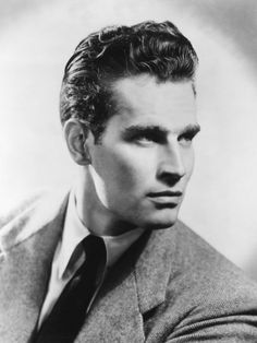 Charlton Heston (most famous role as MOSES in The 10 Commandments)