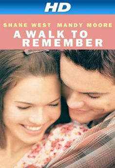 A Walk to Remember, Mandy Moore, Shane West, (One of Best Romance Movies Ever) I would have to say this makes my top 5 favorite movies Shane West, Remember Movie, Walk To Remember, Remember Quotes, Mandy Moore, See Movie, Movie Tv, Films Chrétiens, Comedy Movies