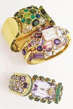 Bracelets by René Boivin and Suzanne Belperron