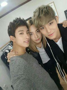 DK , Jeonghan , Mingyu