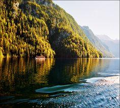 "Autumn lake - Königssee (much better in original size-press ""L"") by Katarina 2353, via Flickr"