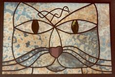 Klee Paul -   Cat stained glass