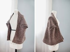 I've gotten several questions about the Inversion Cardigan from our Spring Thaw collection and thought it would be a great topic to chat about today – both the specifics of the garment's shape as well as the design process. Inversion is a 2-way garment, meaning it can be worn right side up or upside down, …