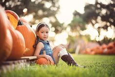 South Florida Pumpkin Patch Photography Session in Wellington