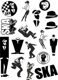 Ska Music, Reggae Music, Skinhead Tattoos, Genre Musical, Df Mexico, Ska Punk, One Step Beyond, Laurel, Rude Boy