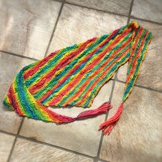 Shop for yarn on Etsy, the place to express your creativity through the buying and selling of handmade and vintage goods. Hand Knit Scarf, Art Yarn, Hand Spinning, Rainbow Colors, Merino Wool, Hand Knitting, Shawl, My Etsy Shop, Colour