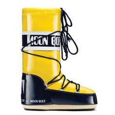 Classic Vinyl Moon Boot Yellow, $108, now featured on Fab.