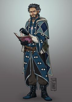 Albert Dumbleding, the Holly Jolly Baker Male Character, Character Portraits, Fantasy Character Design, Character Design Inspiration, Character Concept, Character Ideas, Dnd Wizard, Fantasy Wizard, Fantasy Male