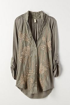 No clue if I could pull this off. I'm probably too short for this. Cardamom Top #anthropologie