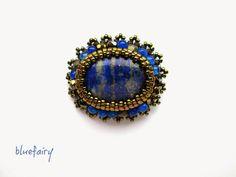 bluefairy art: Mini, broszka