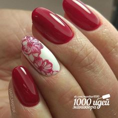 #nail #read #flower