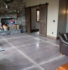 Polished #concrete can bring a certain charm to your interior that other floor types simply can't.