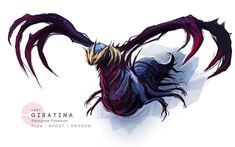 Giratina by MrRedButcher.deviantart.com on @DeviantArt
