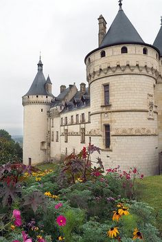 Chateau de Chaumont ~ founded in the 10th century, Loir-et-Cher,France