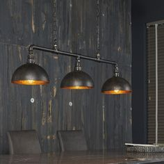 While looking for a lamp for your home, your options are almost unlimited. Discover the most suitable living room lamp, bed room lamp, table lamp or any other type for your particular room. Industrial Ceiling Lights, Industrial Light Fixtures, Drop Lights, Wall Lights, Suspension Bar, Suspension Design, Retro Lampe, Large Lamps, Decoration Inspiration