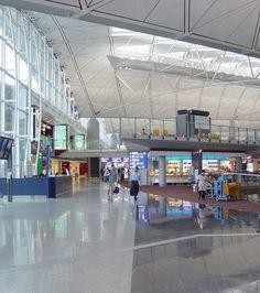 11. Aéroport international de Hong-Kong : un aéroport ultra moderne, où tout a été pensé pour le confort des voyageurs.