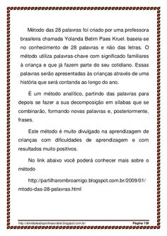 Alfabetização 28 palavras_parte II Activities, Education, Professor, Preschool Literacy Activities, Language Activities, Word Bingo, Reading And Writing Project, Dyslexia, School Supplies