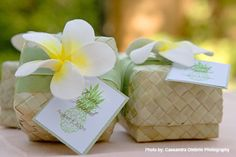 Eco-Friendly Market: Hawaiian Weddings, Lauhala Boxes, Hawaiian Wedding Favors, Plumerias, Destination Weddings, Green Wedding Favor Boxes, Pandan Lidded Boxes