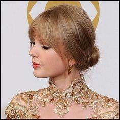 Updos Long Hair bangs